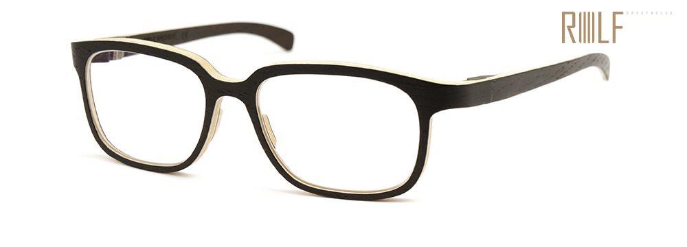 ROLF Spectacles Holzbrillen = Holz pur + Glas, fertig.